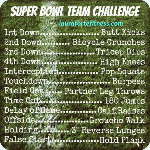superbowl sunday workout