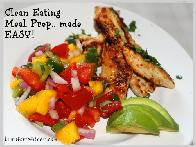 Clean Eating Meal Prep.. made easy!